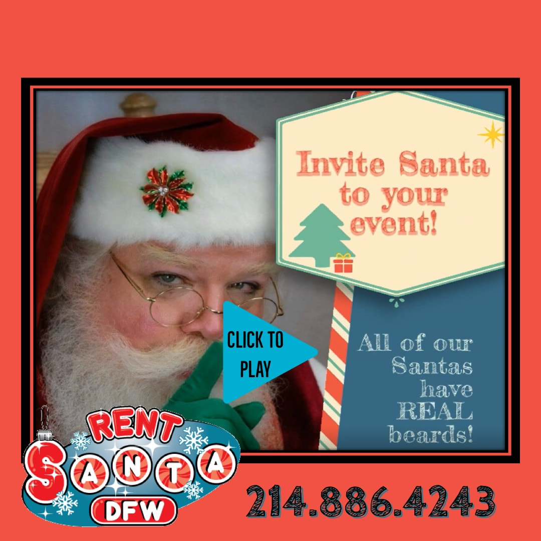 Best Santa Dallas, Santa in Dallas, Santa for Hire, Rent a Santa, Rent Santa DFW