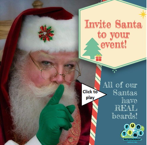 Best Dallas Santa, Santa for hire, DFW Santa, Christmas